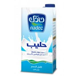 Milk - Nadec full-fat 1L