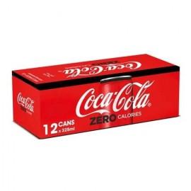 Coca.Cola zero 325ml  × 12