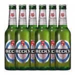 Becks Apple Flavour Malt Beverage 275ml x 6