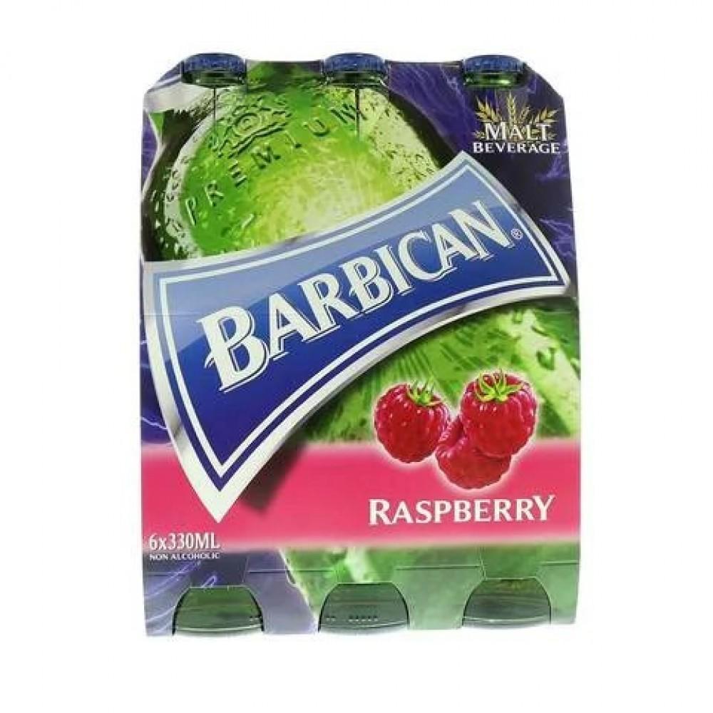 Barbican Raspberry Flavour Malt Beverage 330ml x 6