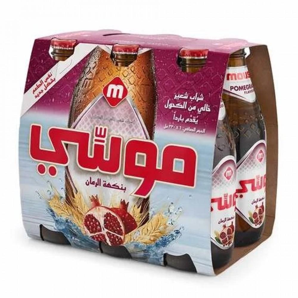 Moussy Pomegranate Flavour Malt Beverage 330ml x 6
