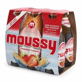 Moussy Strawberry Flavour Malt Beverage 330ml x 6