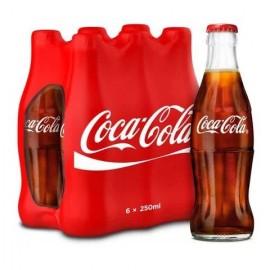 Coca Cola 250ml  × 6