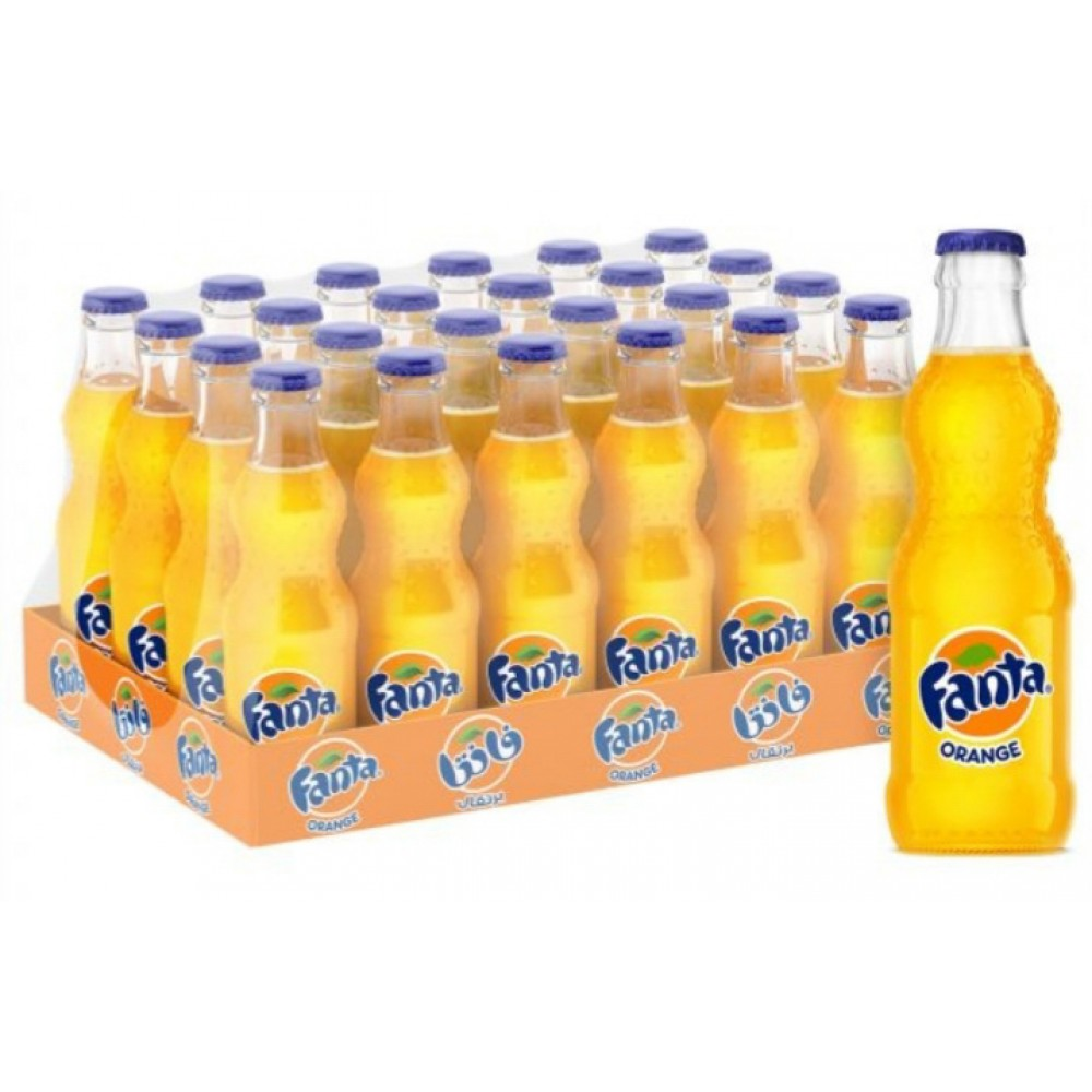 Fanta orange 250 ml x 24