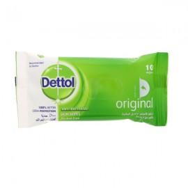 Dettol Antiseptic Wet Wipes 10 pcs