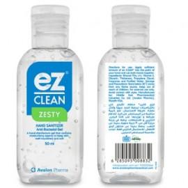 Hand Sanitizer Gel Ez-Clean Zesty 50ml