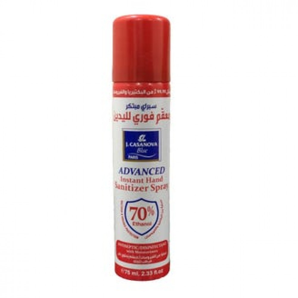 Hand Sanitizer Spray J. Casanova Paris 75ml
