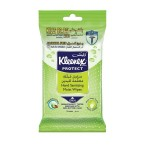 Kleenex Sanitizer Wet Wipes Shea Butter 15 pcs