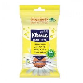 Kleneex Sanitizer Wet Wipes Sensitive Chamomile 15 pcs