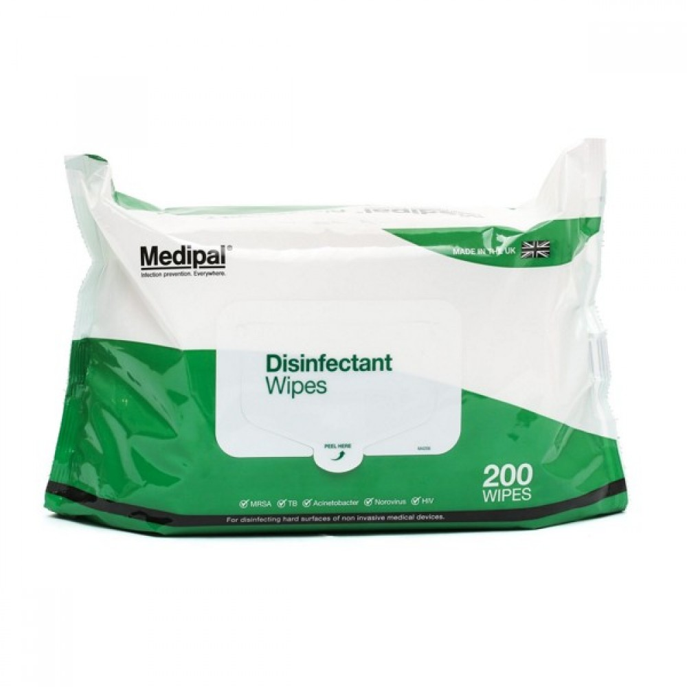 Medipal Disinfectant Wipes 200 Wipes