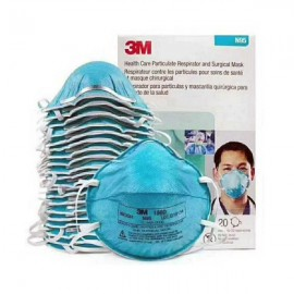 N95 1860 3M Particulate Respirator and Surgical 1 Mask