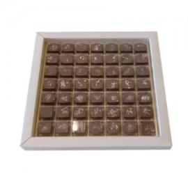 Le Choca Chocolate with Nuts box 49 pcs
