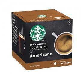 Starbucks House Blend Americano - 12 Coffee Capsules