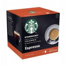 Starbucks Colombia Espresso - 12 Coffee Capsule