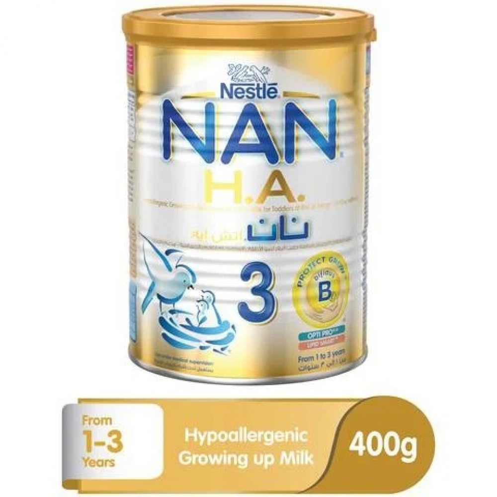 NAN H.A stage 3 (1-3 years) growing up cow's milk for infants at risk of allergy