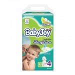 BabyJoy Jumbo Pack Size 4 Large - 48 diapers