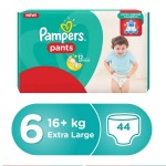 Pampers Pants Size (6) Jumbo Pack 44 Pants