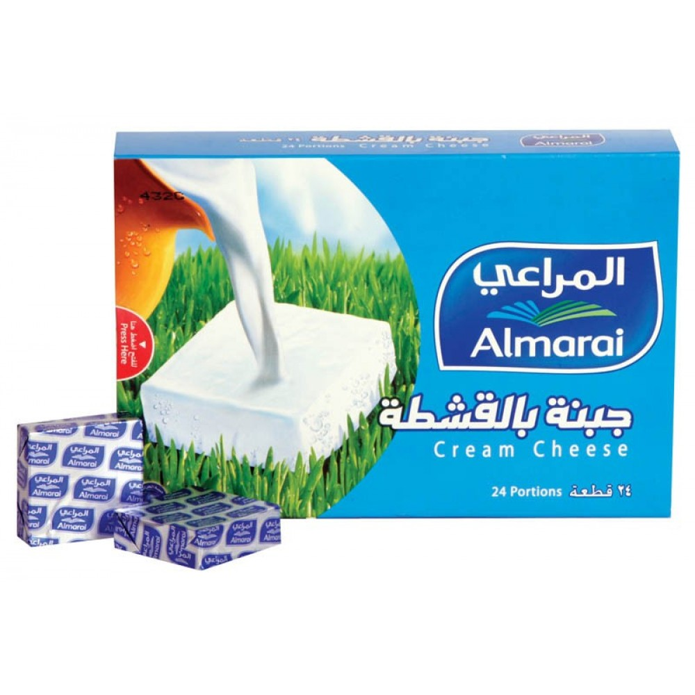 AL MARAI CHEESE SQUARE PORTION 430 g  24 Pcs