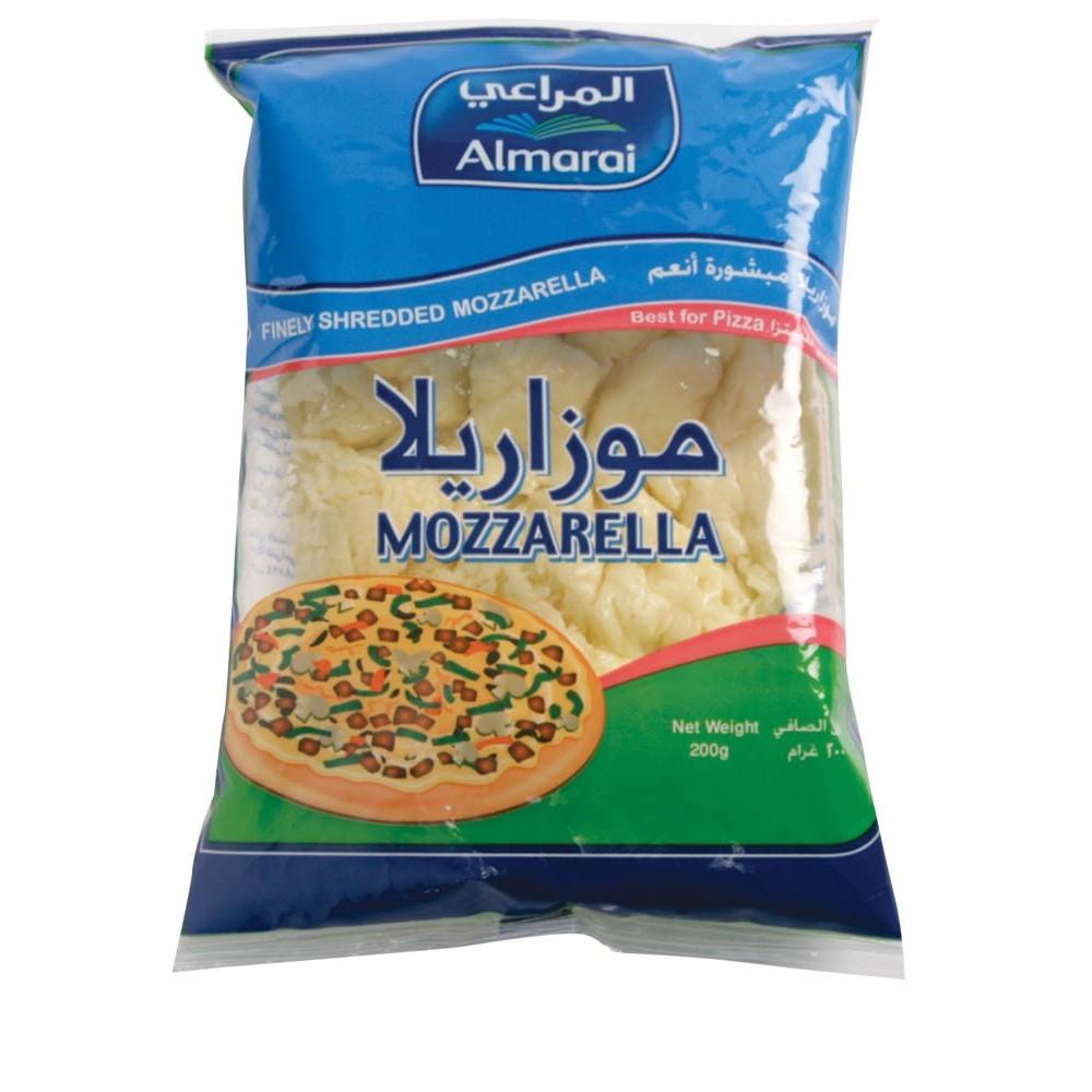 ALMARAI CHEESE MOZZARELLA CHEEDAR 200g