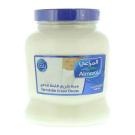 Almarai spreadable cream cheese full fat 900 g