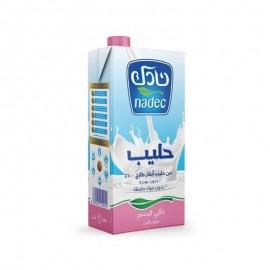 Milk - Nadec fat-free 1 L